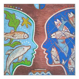 Carte Vegan fish