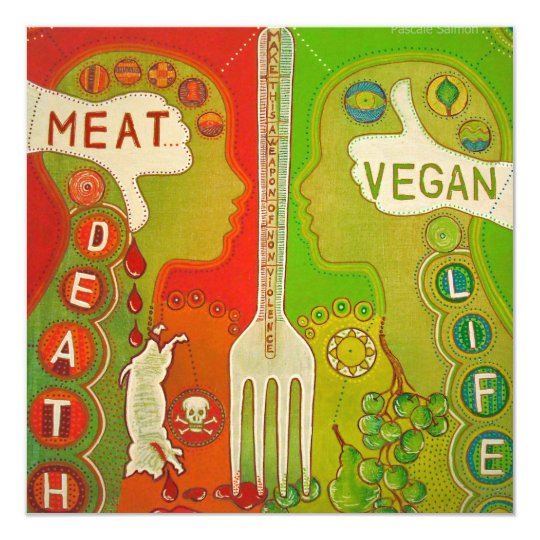 Carte Vegan fork life