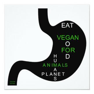 Carte vegan stomach