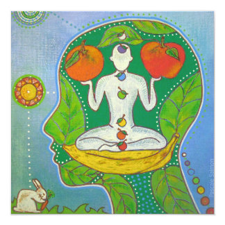 Carte Vegan Yoga energy