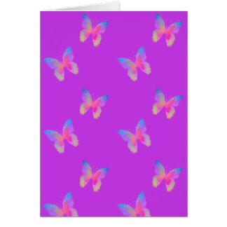 Carte (vibrant-violette) de transformation de