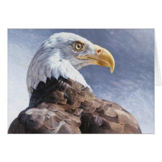Carte vierge chauve d'Eagle par Andrew Denman