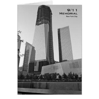 Carte vierge commémorative BW8 de 911 NYC