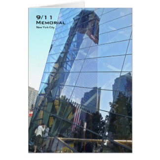 Carte vierge commémorative CR7 de 911 NYC