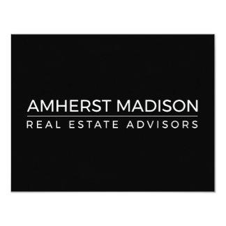 Carte vierge d'Amherst Madison