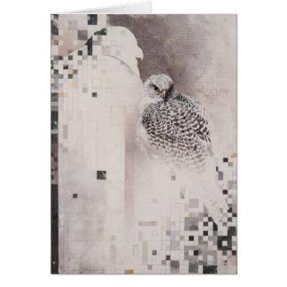 Carte vierge de Gyrfalcon par Andrew Denman
