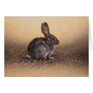 Carte vierge de lapin par Andrew Denman