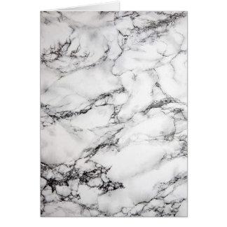 Carte vierge de marbre