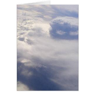 Carte vierge de nuages (conception 2)