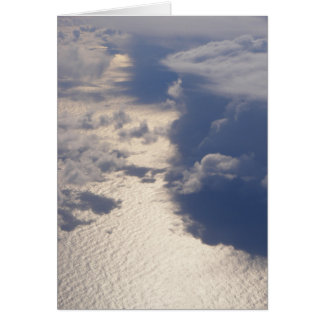 Carte vierge de nuages (conception 4)
