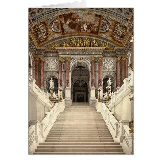 Carte vierge de théatre de l'opéra de Vienne