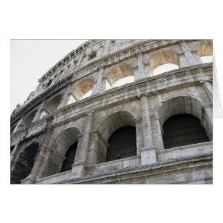 Carte vierge romaine de note de Colosseum