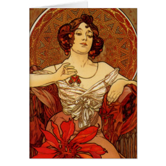 "Carte vierge rouge ""de pierres précieuses de ~ de"