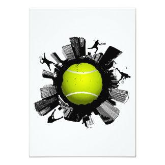 Carte Ville de tennis