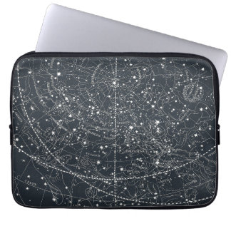 Carte vintage de constellation housses ordinateur portable