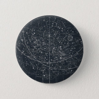 Carte vintage de constellation pin's