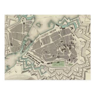 Carte vintage de Genève (1841)