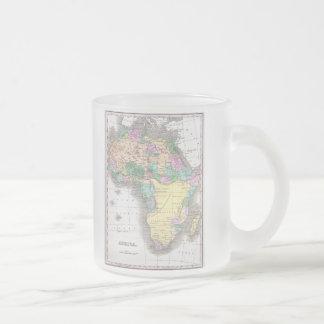 Carte vintage de l Afrique 1827 Tasse À Café