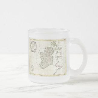 Carte vintage de l Irlande 1771 Mugs
