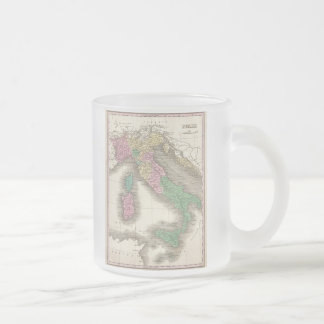 Carte vintage de l Italie 1827 Mug À Café