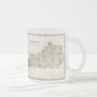 Carte vintage du Kentucky (1827) Tasse À Café