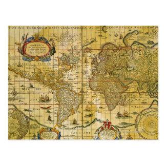 Carte vintage du monde