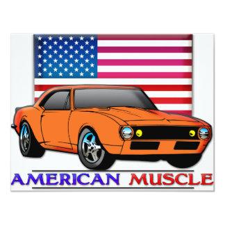 Carte Voiture américaine de muscle