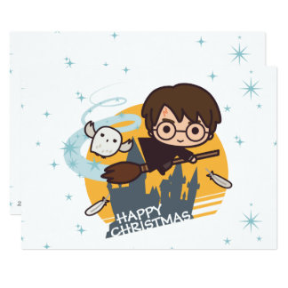 Carte Vol de Harry et de Hedwig après Noël de Hogwarts