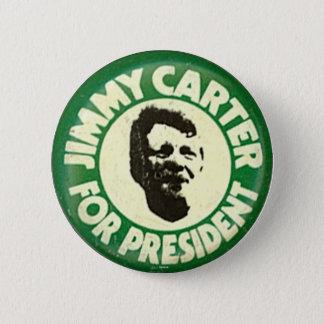 Carter pour le président - bouton pin's