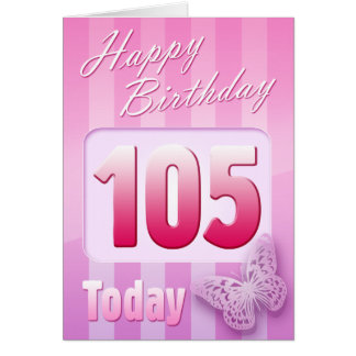 Cartes 105th maman heureuse de grand-tante de grand-mère
