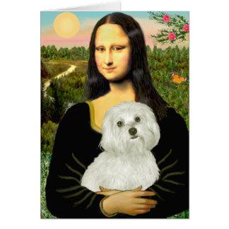 Cartes 11 maltais - Mona Lisa