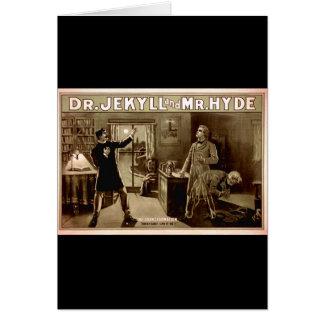 Cartes 1880s de Dr. Jekyll et de M. Hyde Vintage