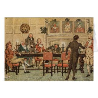 Cartes 1er décembre 1810 : Noël chez Marley Hall