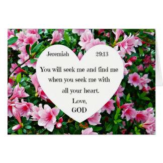 Cartes 29:13 de Jérémie