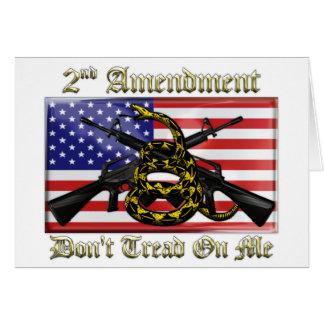 Cartes 2ème Amendement