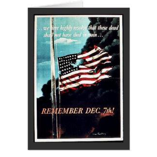 Cartes 2ème guerre mondiale 7 décembre