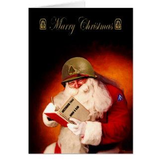 Cartes 2ÈME GUERRE MONDIALE Père Noël