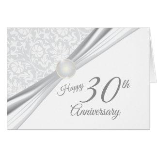 Cartes 30ème anniversaire de mariage heureux