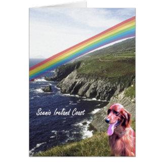 Cartes 3. Le jour pittoresque de l'Irlande de St Patrick