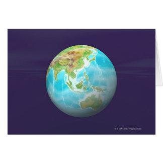 Cartes 3D globe 6