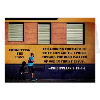 Cartes 3h13 de Philippiens - 14 oubliant le passé