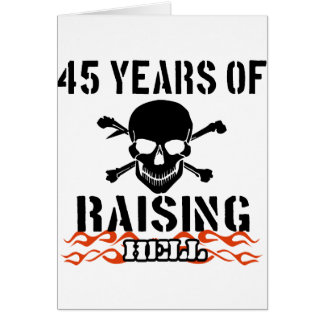 Cartes 45 ans d'enfer de augmenter