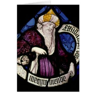 Cartes 52 : Rondeau du prophète Ezekiel, XVème siècle