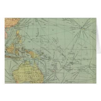 Cartes 68 voies de communication, l'Océan Indien