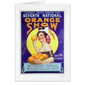 Cartes 7ème Exposition orange nationale 1917