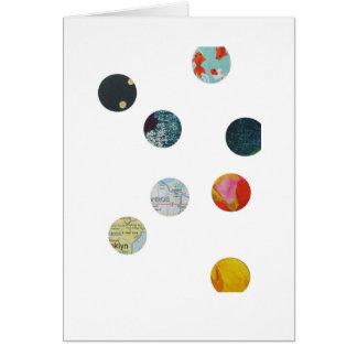 Cartes 8 cercles, étoiles et poissons