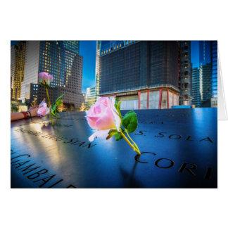 Cartes 911 NYC commémoratifs