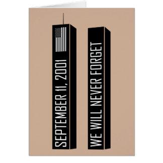 Cartes 9/11 mémorial