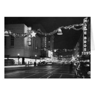 Cartes 9ème et rues de K, Sacramento, CA, 1947