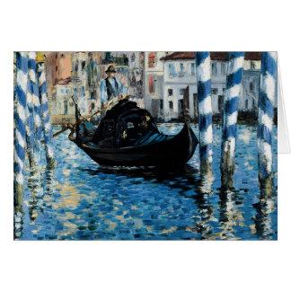 Cartes À de canal grand de le Venise - Edouard Manet